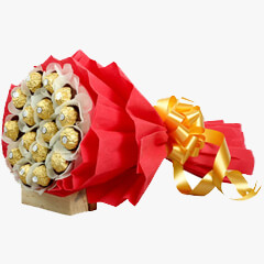 16 Pcs Rocher Bouquet