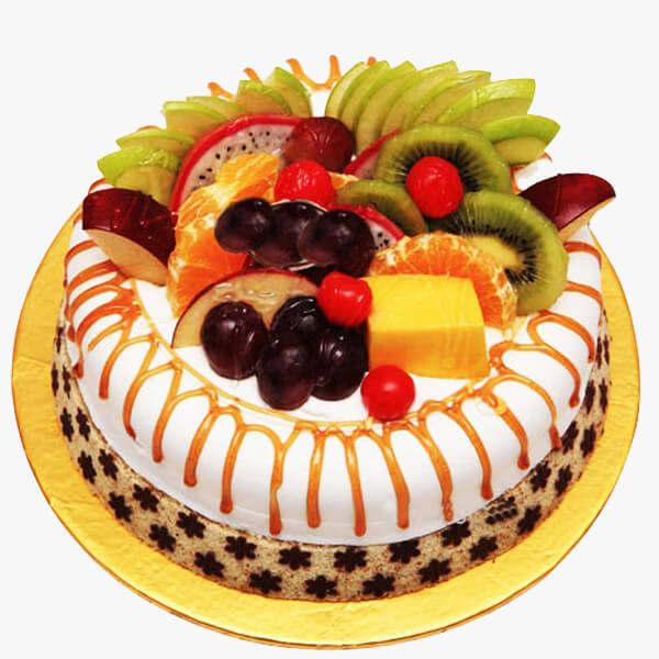 Eggless Mixed Fruit Cake